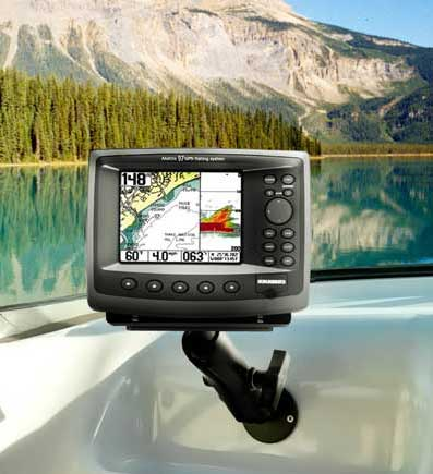 tallon ram universal gps fish finder mount for garmin, lowrance, Fish Finder
